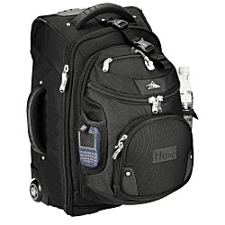 View a larger, more detailed picture of the High Sierra Wheeled Carry-On w DayPack