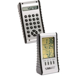View a larger, more detailed picture of the Flip n Fall Alarm Clock Calculator