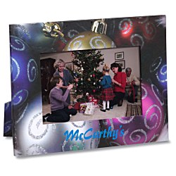 View a larger, more detailed picture of the Paper Photo Frame - Christmas