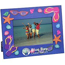 View a larger, more detailed picture of the Paper Photo Frame - Summer
