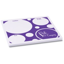 View a larger, more detailed picture of the Note Paper Mouse Pad - Bubbles