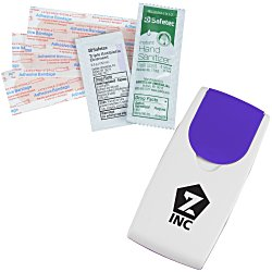 View a larger, more detailed picture of the Grab N Go First Aid Kit - Opaque
