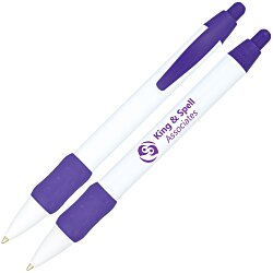 View a larger, more detailed picture of the Bic Widebody Pen with Color Grip - 24 hr
