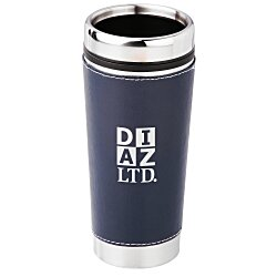 View a larger, more detailed picture of the Leatherette Tumbler - 16 oz - Screen