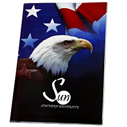 View a larger, more detailed picture of the Patriotic Monthly Planner - 10x7 - Academic