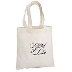 View a larger, more detailed picture of the Cotton Sheeting Natural Economy Tote - 9-1 2 x 9 - 24 hr