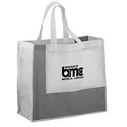 View a larger, more detailed picture of the Polypropylene Color Block Tote