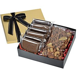 View a larger, more detailed picture of the Premium Confection with Cookies - Deluxe Mixed Nuts