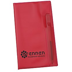 View a larger, more detailed picture of the Monthly Pocket Planner w Pen - Translucent - Academic