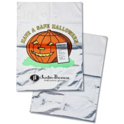 View a larger, more detailed picture of the Metallic Halloween Bag - Safe