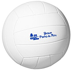View a larger, more detailed picture of the Full Size Synthetic Leather Volleyball