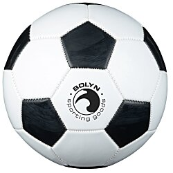 View a larger, more detailed picture of the Full Size Synthetic Leather Soccer Ball