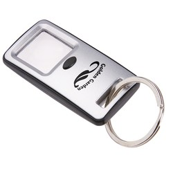 View a larger, more detailed picture of the Magnifying Glass Key Ring