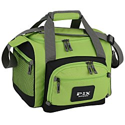View a larger, more detailed picture of the 12-Can Convertible Duffel Cooler - 24 hr