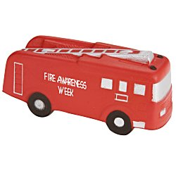 View a larger, more detailed picture of the Stress Reliever - Fire Truck