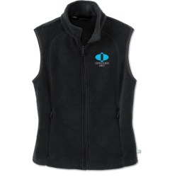 View a larger, more detailed picture of the Recycled Polyester Fleece Vest - Ladies