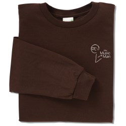 View a larger, more detailed picture of the Anvil Organic 5 oz Long-Sleeve T-Shirt - Colors