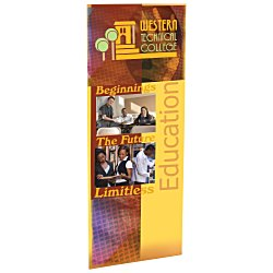 View a larger, more detailed picture of the Economy Retractor Banner - 31-1 2 - Replacement Graphic
