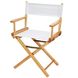 View a larger, more detailed picture of the Director Chair - Table Height - Blank
