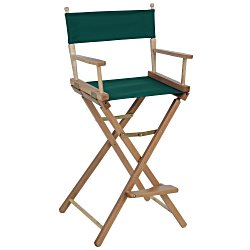 View a larger, more detailed picture of the Director Chair - Bar Height - Blank