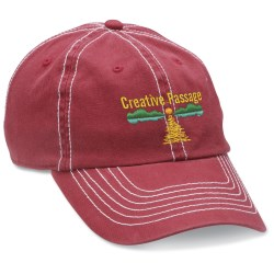 View a larger, more detailed picture of the Retro Cap - Embroidered - Closeout Colors