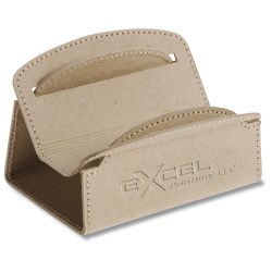 View a larger, more detailed picture of the Recycled Cardboard Business Card Holder