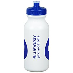 View a larger, more detailed picture of the Sport Bottle with Push Pull Lid - 20 oz - Fill Me