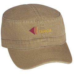 View a larger, more detailed picture of the Military Cap - Embroidered - Solid Colors