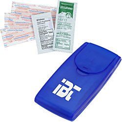 View a larger, more detailed picture of the Grab N Go First Aid Kit - Translucent