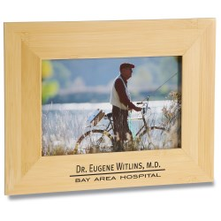View a larger, more detailed picture of the 4 x 6 Bamboo Picture Frame