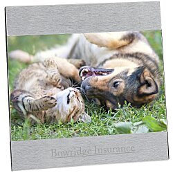 View a larger, more detailed picture of the 4 x 6 Brushed Aluminum Split Frame