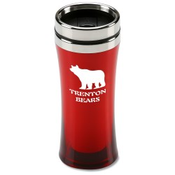 View a larger, more detailed picture of the Fashion First Translucent Tumbler - 14 oz