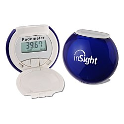 View a larger, more detailed picture of the Translucent Bubble Solar Pedometer