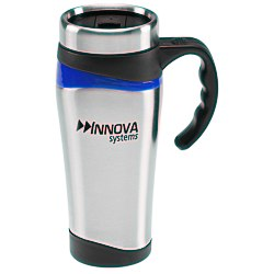 View a larger, more detailed picture of the Color Touch Stainless Mug - 16 oz