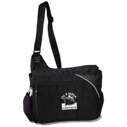 View a larger, more detailed picture of the Tempo 100 Recycled PET Urban Messenger Bag