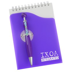 View a larger, more detailed picture of the Swanky Pen and Notebook Set