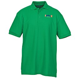 View a larger, more detailed picture of the Soft Touch Pique Sport Shirt - Men s