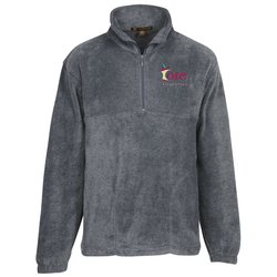 View a larger, more detailed picture of the Harriton Quarter-Zip Fleece Pullover