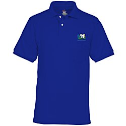 View a larger, more detailed picture of the Hanes ComfortBlend 50 50 Jersey Pocket Sport Shirt