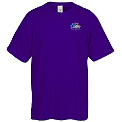 View a larger, more detailed picture of the Hanes 50 50 ComfortBlend T-Shirt - Embroidered - Colors