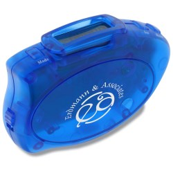 View a larger, more detailed picture of the Step-it Up Pedometer - Translucent