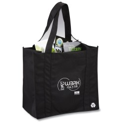 View a larger, more detailed picture of the Eco Design Recycled PET Grocery Tote