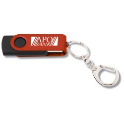 View a larger, more detailed picture of the Swing USB Drive - Color - 4GB