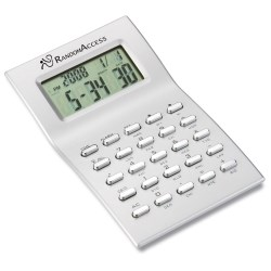 View a larger, more detailed picture of the Sleek World Time Calculator - Closeout