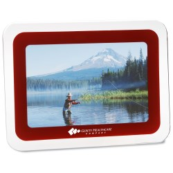 View a larger, more detailed picture of the Picture-It Glass Photo Frame - Closeout