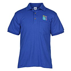 View a larger, more detailed picture of the Gildan 6 oz DryBlend 50 50 Jersey Pocket Polo