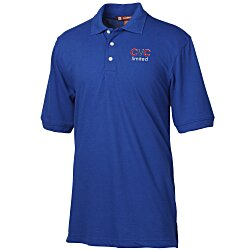 View a larger, more detailed picture of the Harriton 5 6 oz Easy Blend Polo - Men s