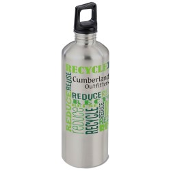 View a larger, more detailed picture of the h2go Classic Stainless Steel Sport Bottle 24 oz Eco