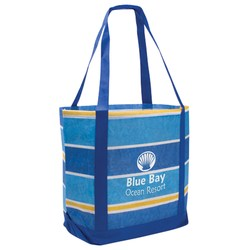 View a larger, more detailed picture of the Stripe Boat Tote