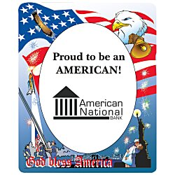 View a larger, more detailed picture of the Patriotic Picture Frame Magnet